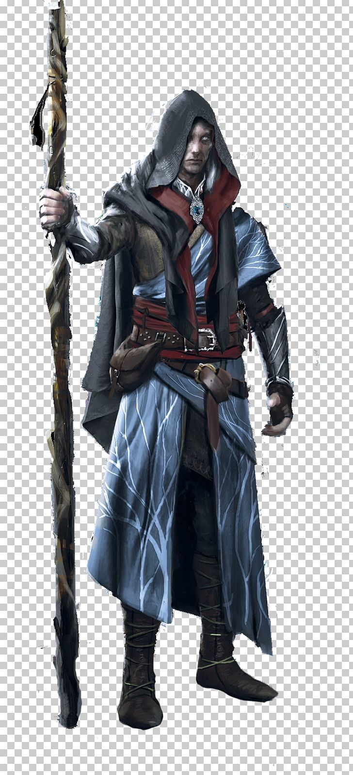 Concept Art Witcher 2 Geralt
