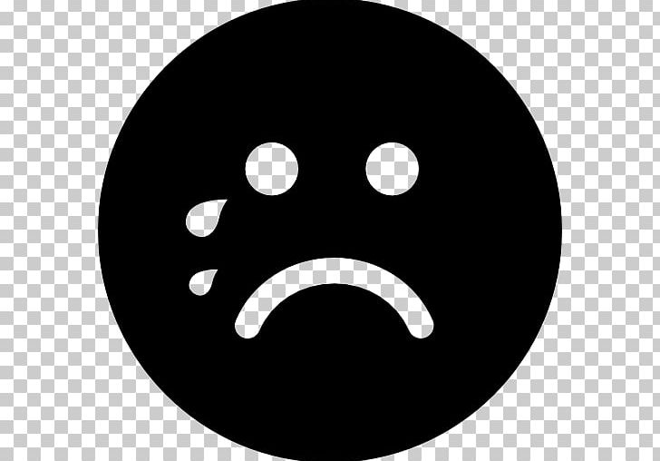 Emoticon Crying Smiley Face With Tears Of Joy Emoji Computer Icons PNG, Clipart, Black And White, Circle, Computer Icons, Crying, Emoticon Free PNG Download