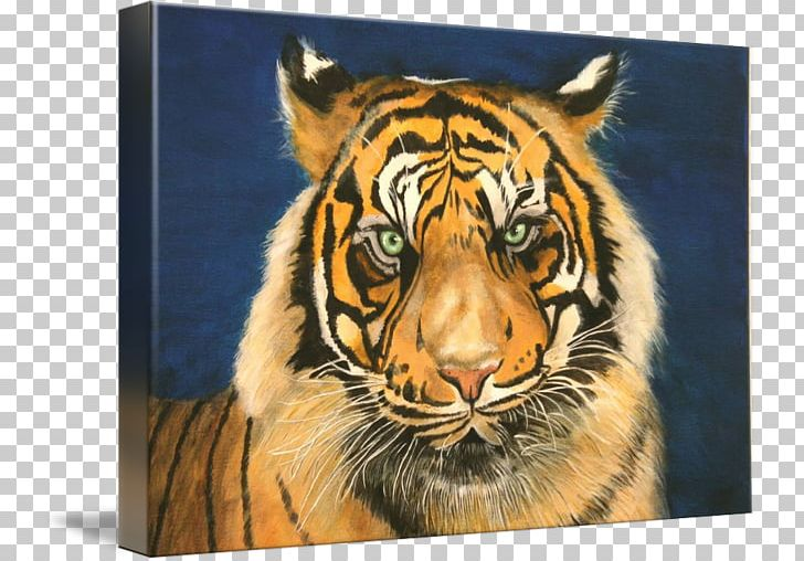 Tiger Painting Art Whiskers Wildlife PNG, Clipart, Animals, Art, Artist, Bengal Tiger, Big Cat Free PNG Download