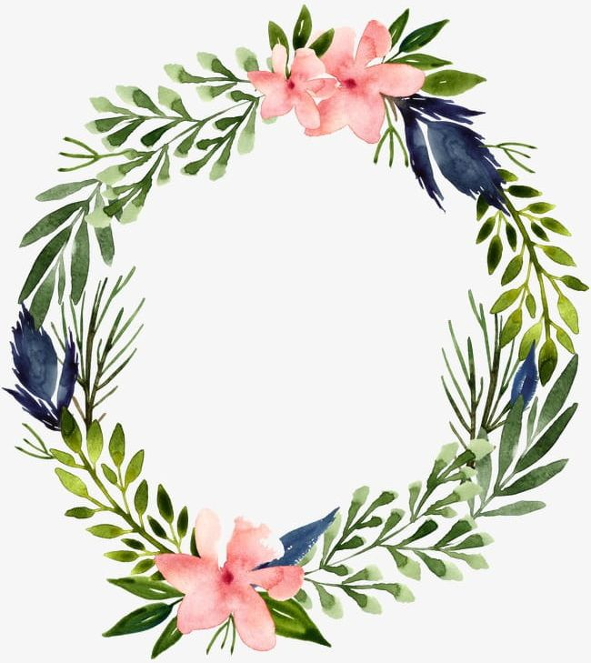 Green Flower Garland PNG, Clipart, Flower Clipart, Flowers ...