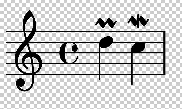 Mordent Ornament Musical Notation Trill Appoggiatura PNG
