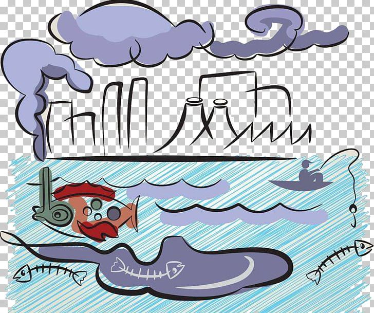Water Pollution PNG, Clipart, Air, Area, Art, Blue, Cartoon Free PNG Download