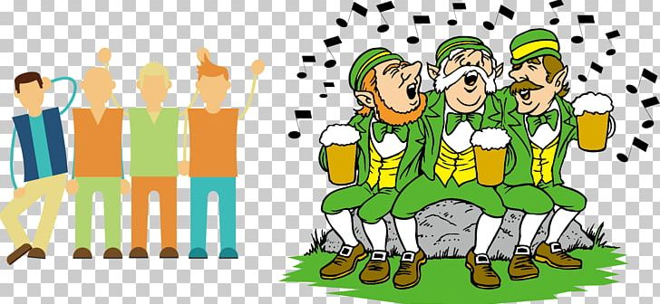 Ireland Wedding Invitation Saint Patricks Day March 17 Irish People PNG, Clipart, Cartoon, Design Element, Drinking, Food, Happy Birthday Vector Images Free PNG Download