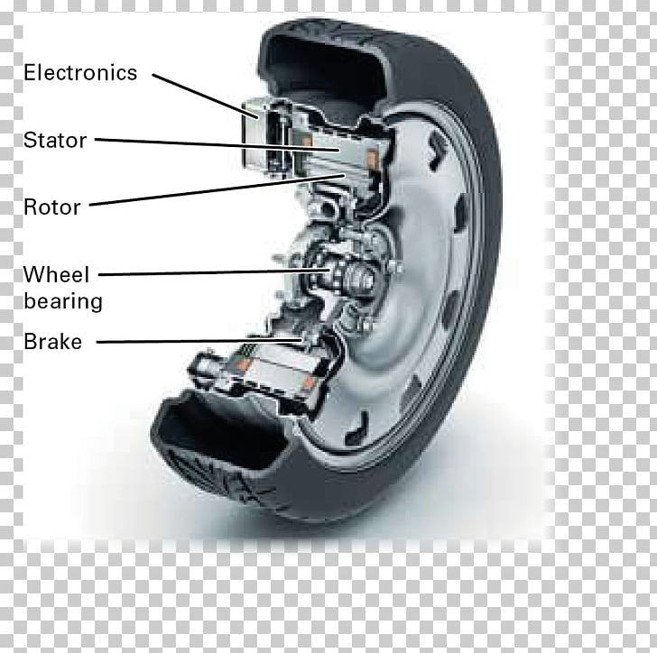 Electric Vehicle Car Wheel Hub Motor Electric Motor Protean Electric