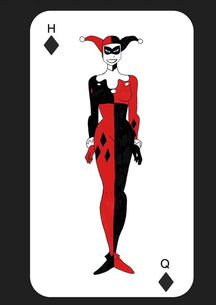 Halloween Joker Card.Harley Quinn Joker Batman Playing Card Png Clipart Art Batman
