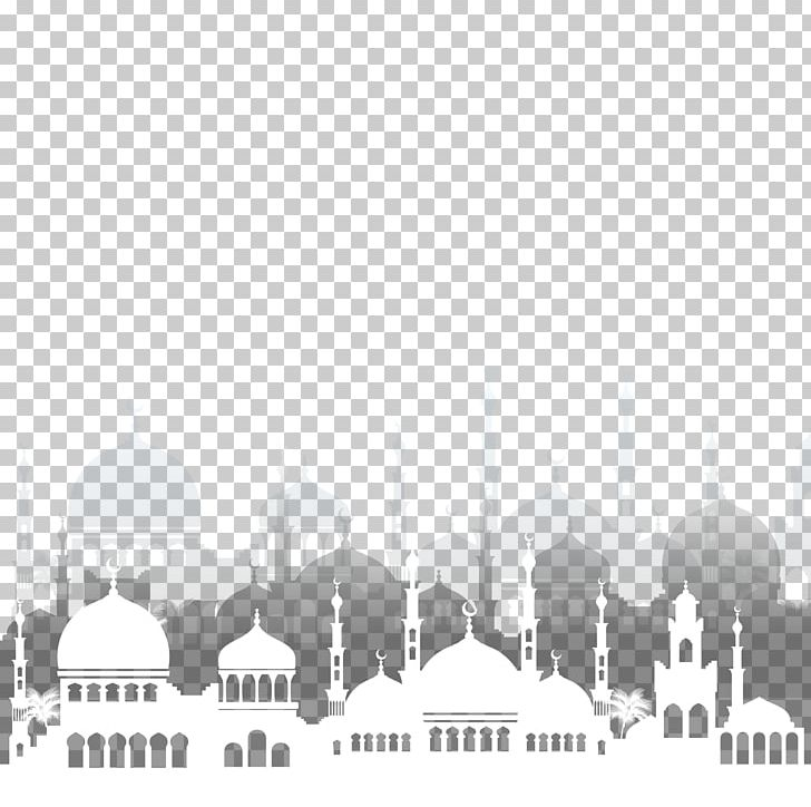 Islam Ramadan Mosque Illustration PNG, Clipart, Angle, Arabia, Architect, Black, Decorative Free PNG Download