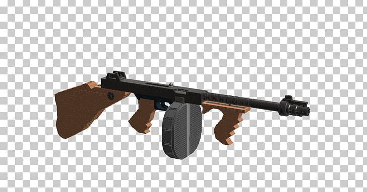 Thompson Submachine Gun LEGO Assault Rifle Trigger PNG