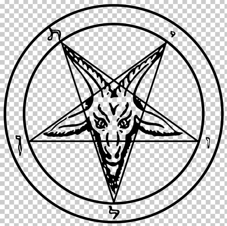 Church Of Satan Sigil Of Baphomet Lucifer PNG, Clipart, Baphomet, Black, Black And White, Charms Pendants, Church Of Satan Free PNG Download