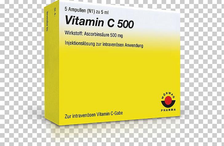 Ascorbic Acid Ampoule Vitamin Pharmaceutical Drug Injection