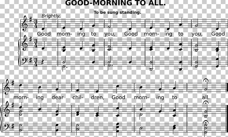 Happy Birthday To You Good Morning To All Song Lyrics Png Clipart Angle Area Birthday Birthday