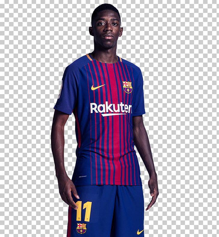 fb532b0344f Ousmane Dembélé Jersey FC Barcelona Sport 2015–16 UEFA Champions League  PNG, Clipart, ...