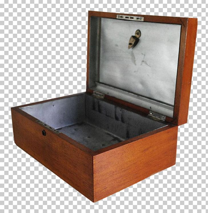Wooden Box Humidor Mahogany Cigar Box Png Clipart 1930s Antique